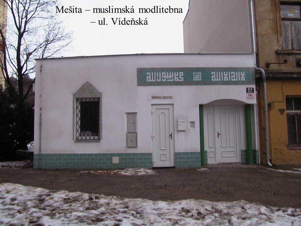 Kostel sv. Josefa – ul. Josefská – nyní mimo provoz