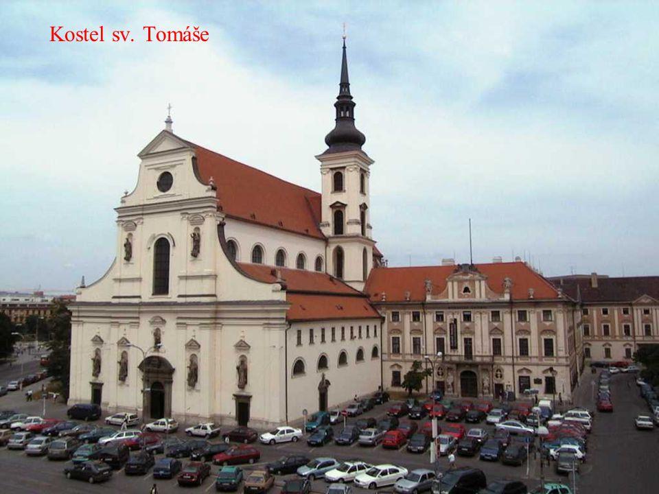 Masarykova čtvrť - kostel sv. Augustina