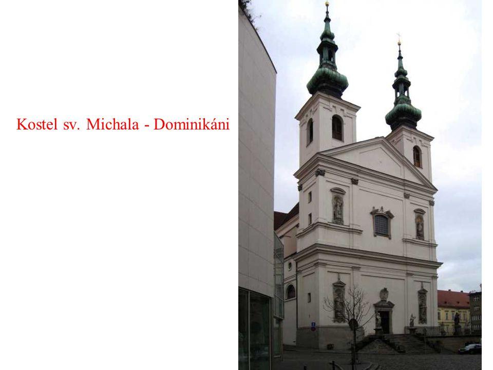 Kostel sv. Michala - Dominikáni