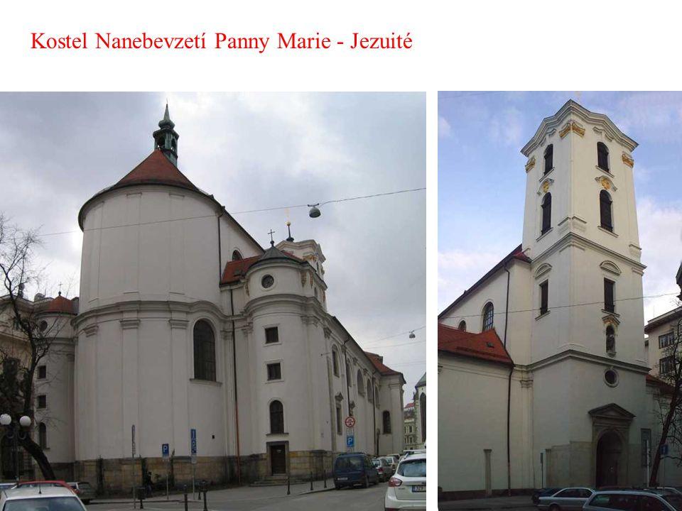 Kostel Nanebevzetí Panny Marie - Jezuité