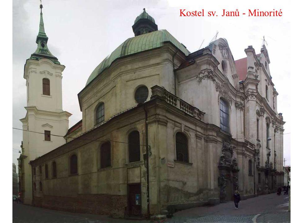 Kostel sv. Janů - Minorité