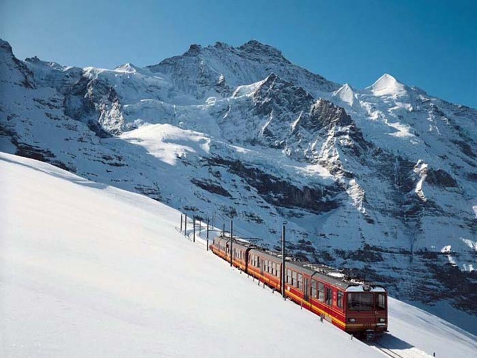 Grindelwald je výchozí stanicí nejvyšší evropské železnice na horu Jungfrau.