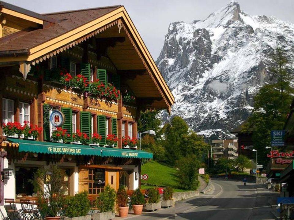 Jedno z nádherných horských údolí v Tyrolích.