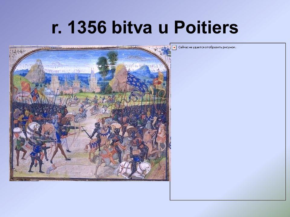 r. 1356 bitva u Poitiers