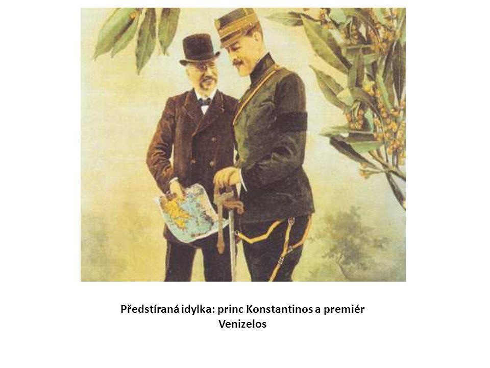 Předstíraná idylka: princ Konstantinos a premiér Venizelos