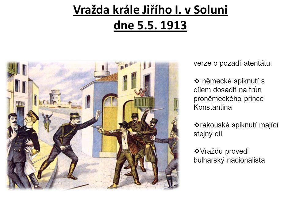 Vražda krále Jiřího I.v Soluni dne 5.5.