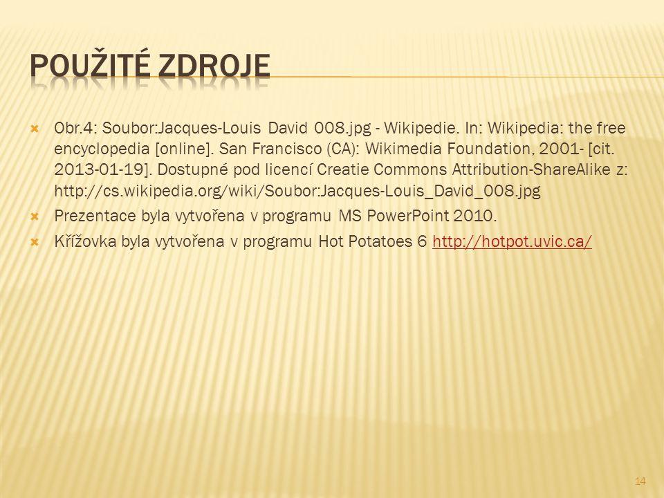  Obr.4: Soubor:Jacques-Louis David 008.jpg - Wikipedie.