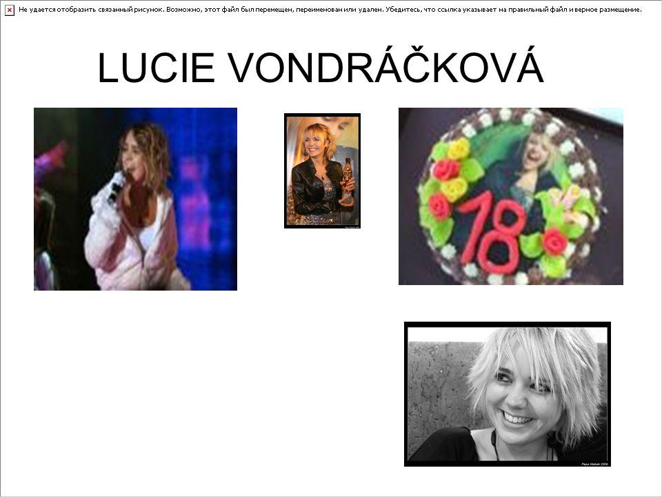 Zpěvačka Lucie Vondráčková (29) podstoupila vážnou operaci kvůli velkým bolestem nohou.