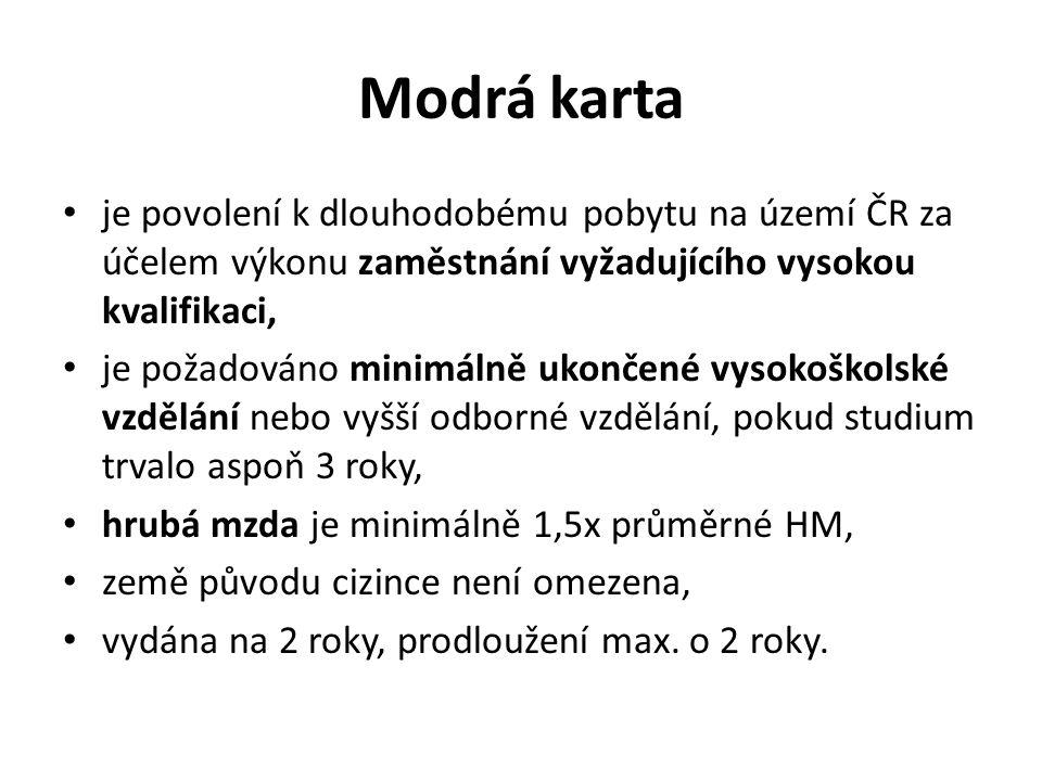 Zaměstnávání občanů EU Občané členských států Evropské unie a jejich rodinní příslušníci nejsou z hlediska zákona o zaměstnanosti považováni za cizince a mají stejné právní postavení jako občané České republiky.
