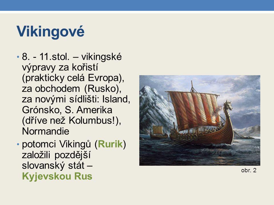 Vikingové 8.- 11.stol.
