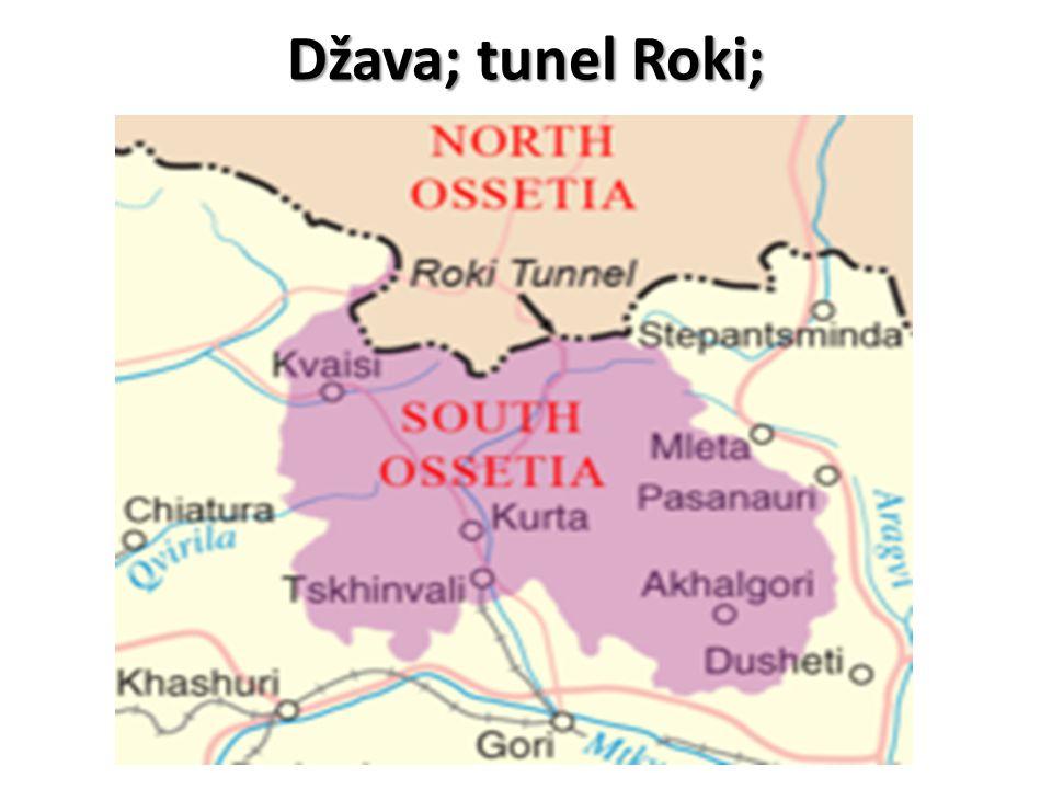 Džava; tunel Roki;