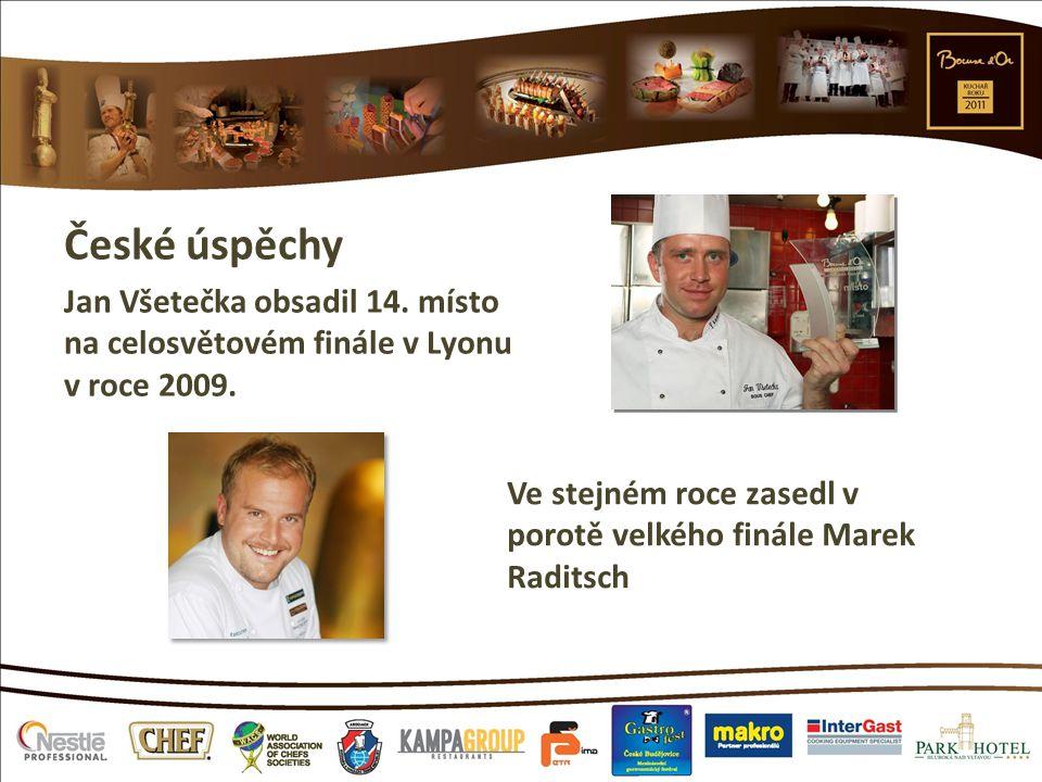 České úspěchy Jan Všetečka obsadil 14. místo na celosvětovém finále v Lyonu v roce 2009. Ve stejném roce zasedl v porotě velkého finále Marek Raditsch