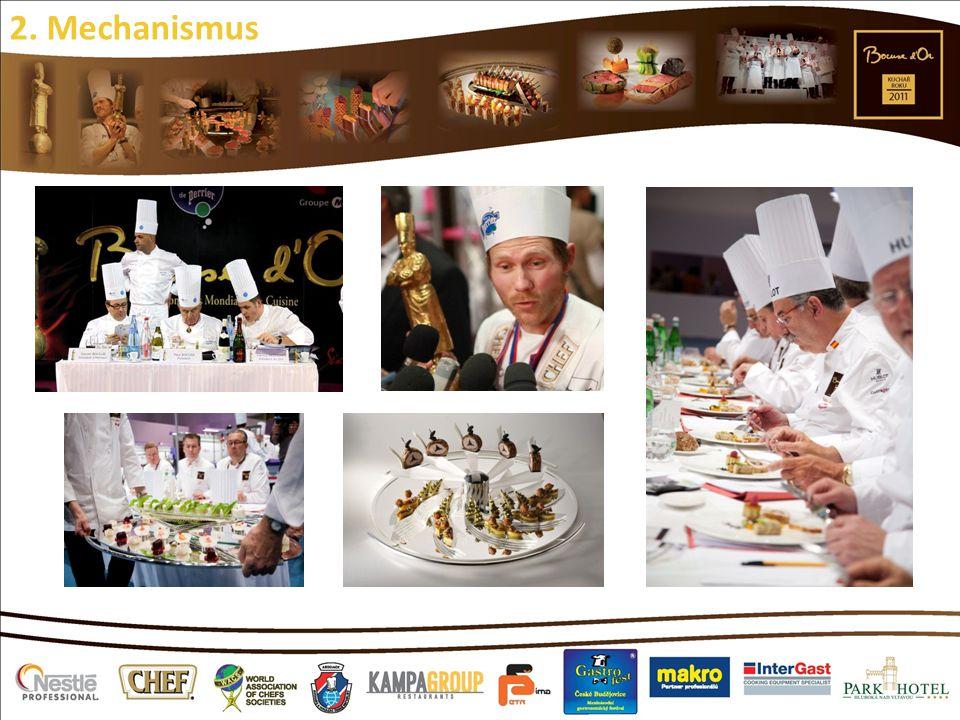 Nejprestižnější soutěž kulinářského umění na světě Odrazový můstek pro nové talenty, cesta kuchaře za hvězdnou slávou a splněný sen každého kuchaře 2.