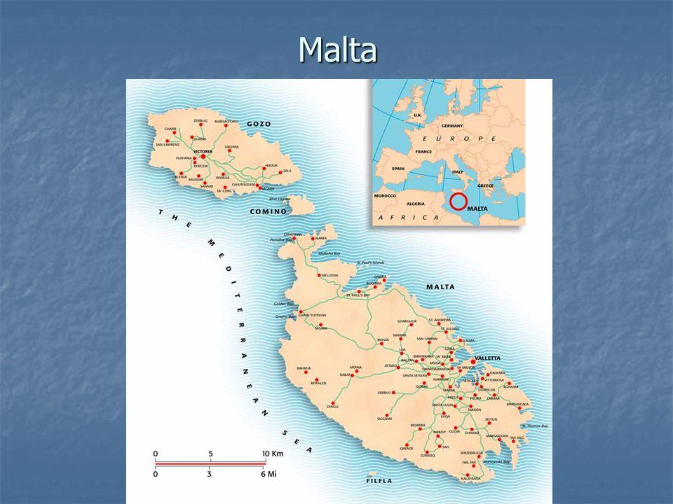 Základní informace Hlavní město:Valletta Rozloha:316 km² Nejvyšší bod:Ta Dmejrek (253 m n.