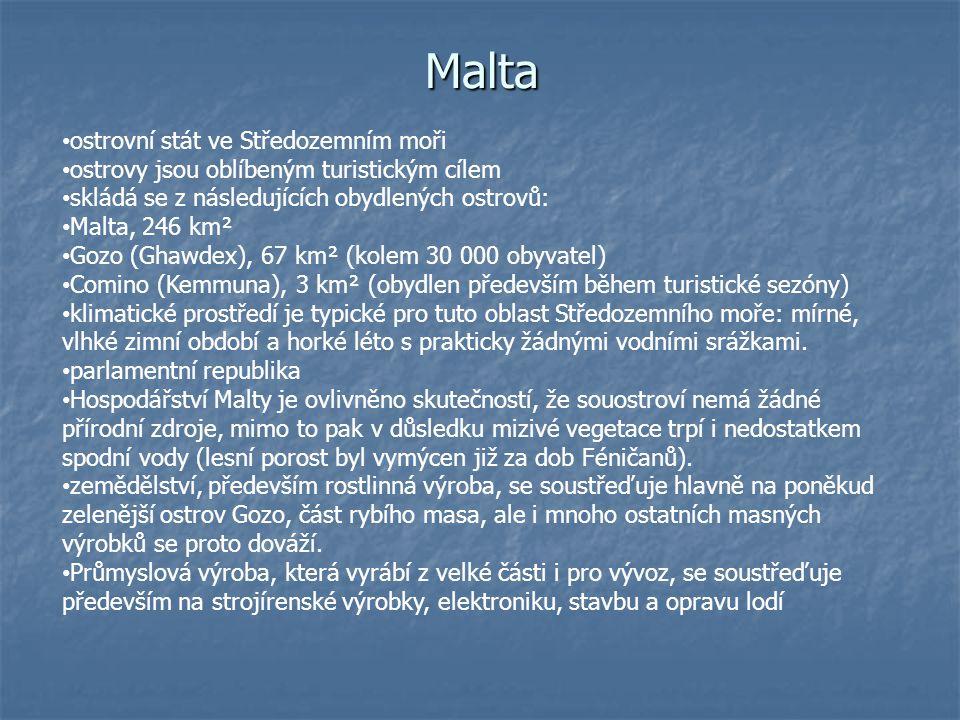 Malta se může chlubit dějinami v trvání téměř 7200 let.