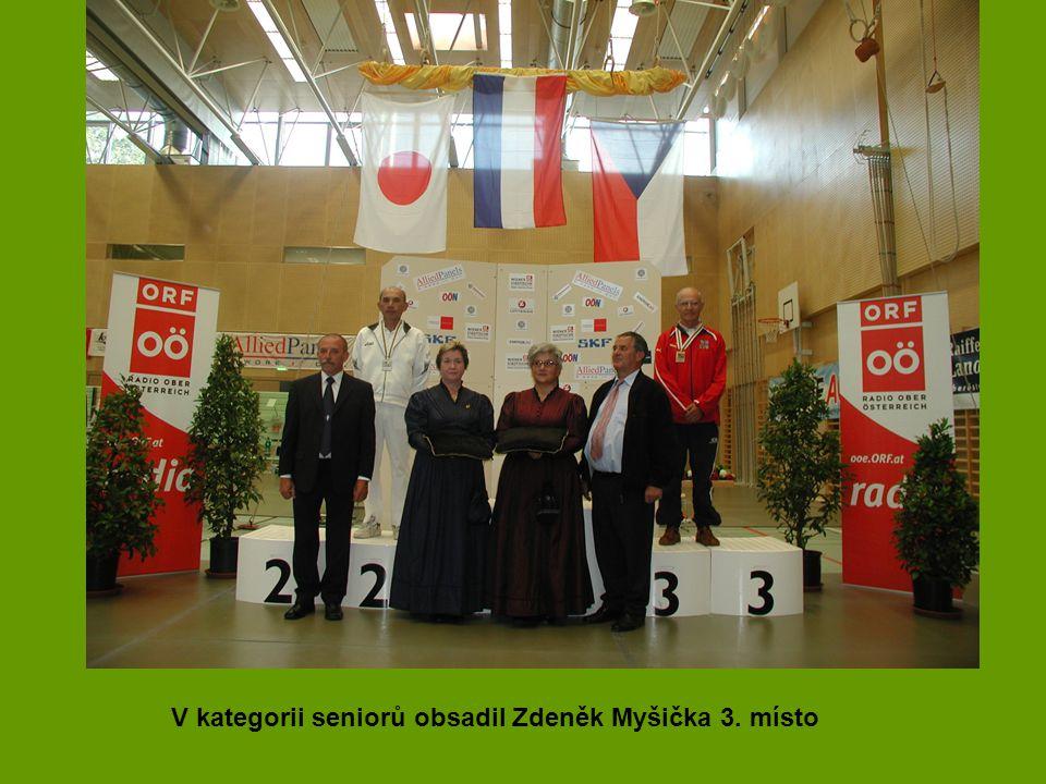 V kategorii seniorů obsadil Zdeněk Myšička 3. místo