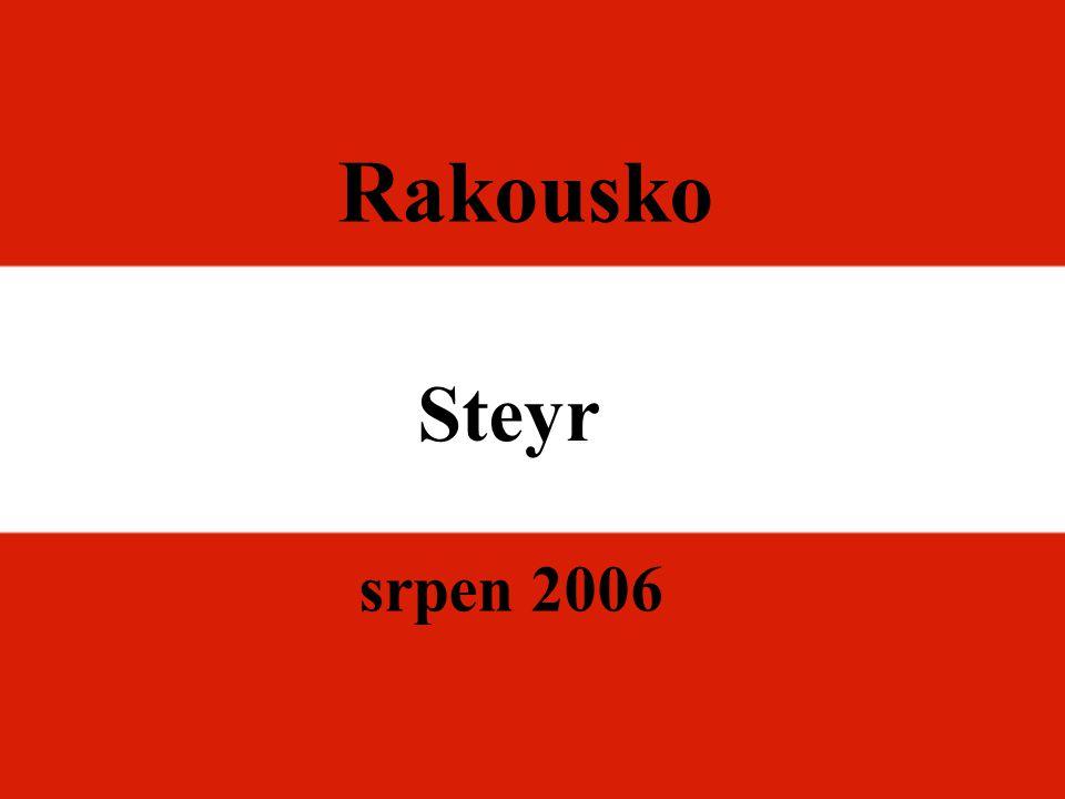 Rakousko Steyr srpen 2006