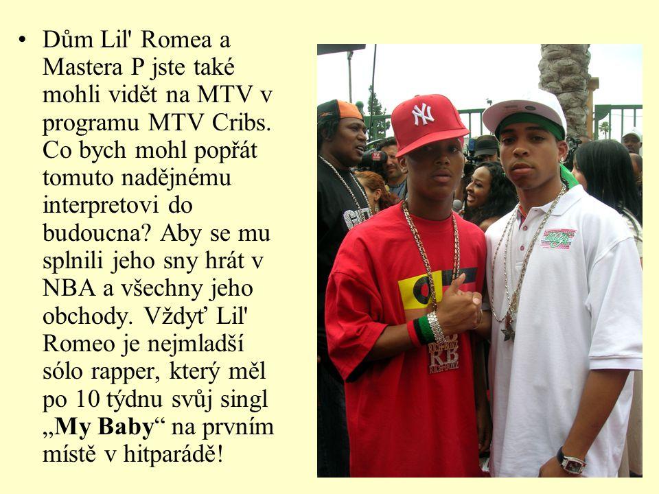 Dům Lil Romea a Mastera P jste také mohli vidět na MTV v programu MTV Cribs.