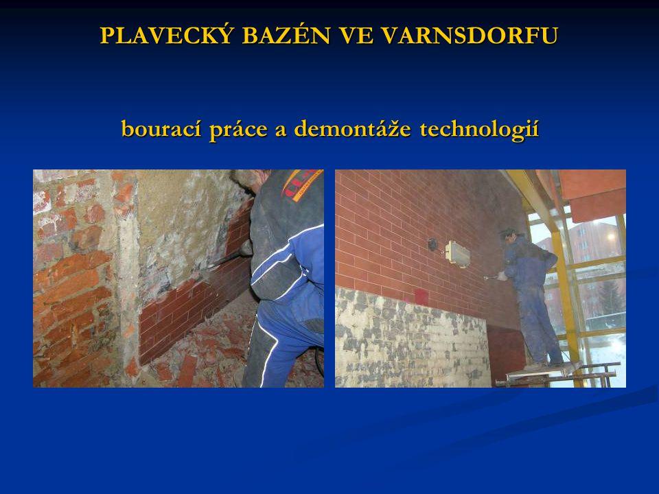 PLAVECKÝ BAZÉN VE VARNSDORFU dodatečná hydroizolace obvodových stěn