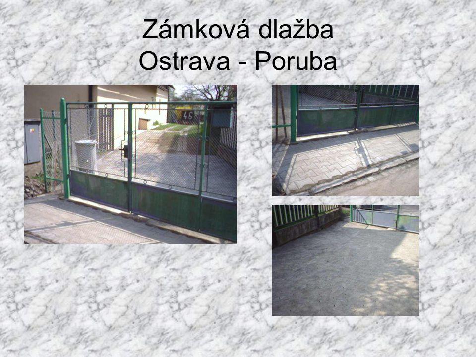 Zámková dlažba Ostrava - Poruba