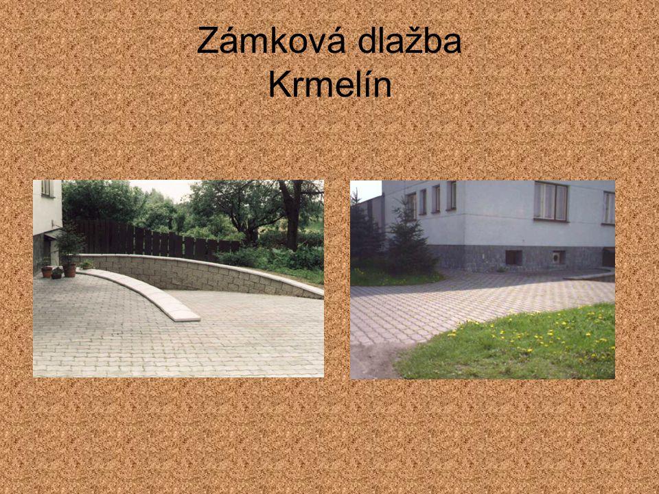 Zámková dlažba Krmelín