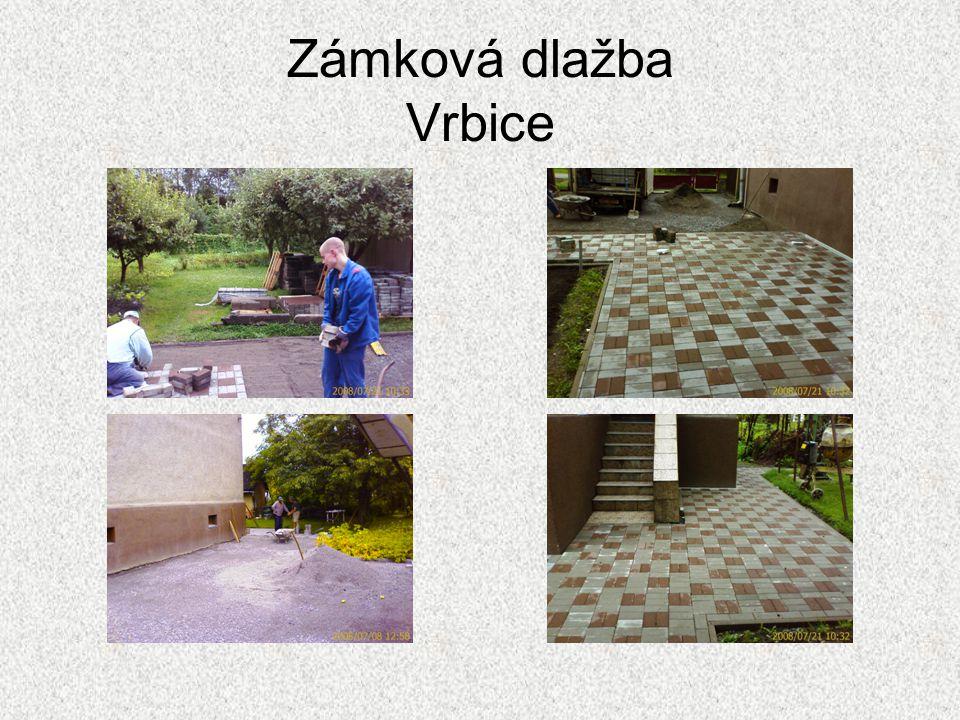 Zámková dlažba Vrbice