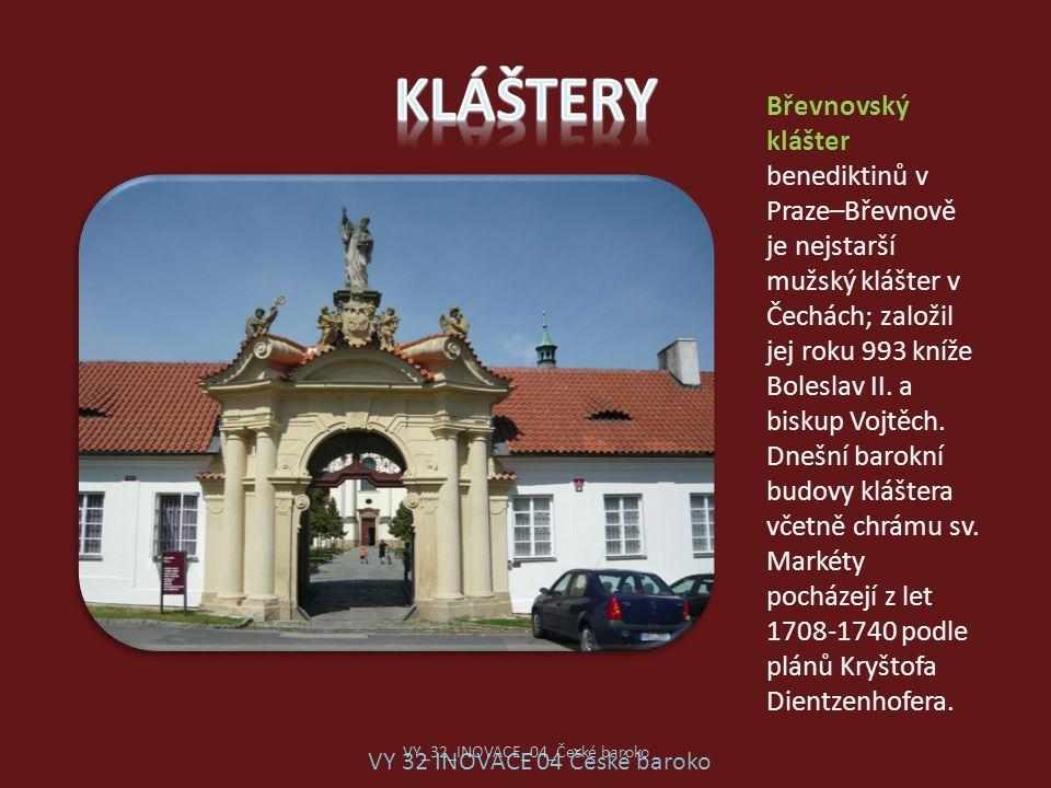 Břevnovský klášter benediktinů v Praze–Břevnově je nejstarší mužský klášter v Čechách; založil jej roku 993 kníže Boleslav II. a biskup Vojtěch. Dnešn