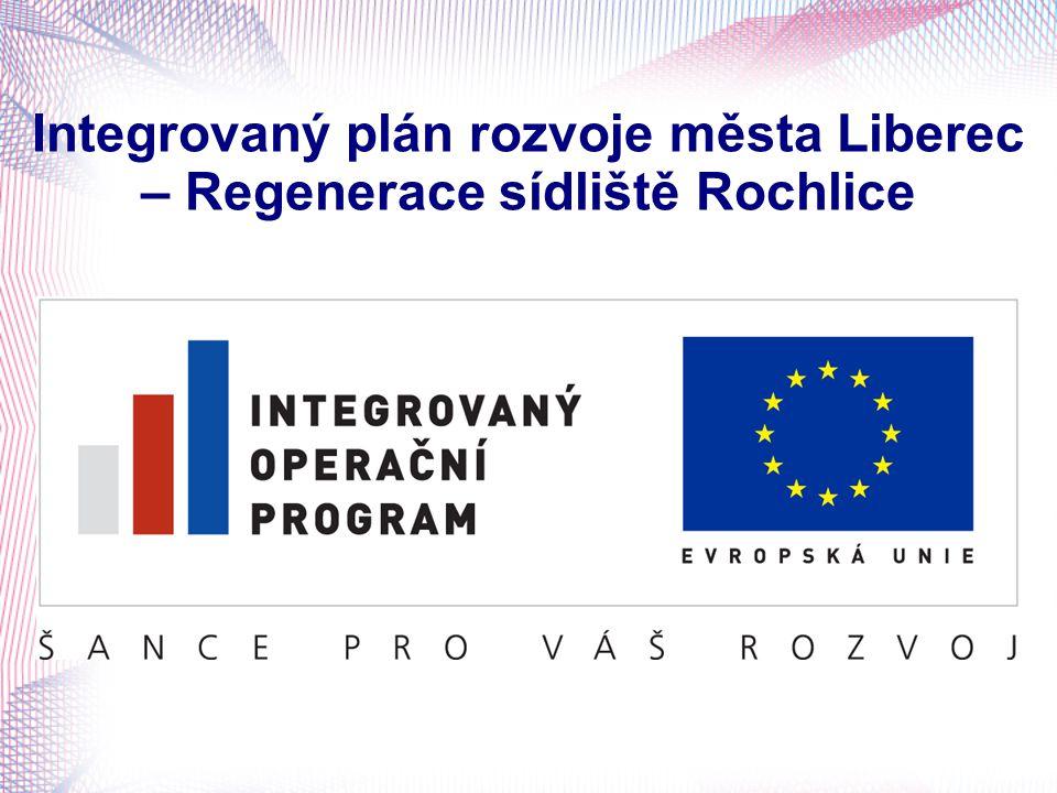 Integrovaný plán rozvoje města Liberec – Regenerace sídliště Rochlice