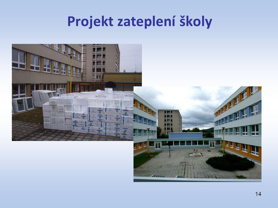 Projekt zateplení školy 14