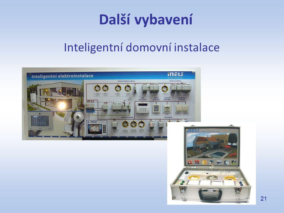 21 Inteligentní domovní instalace Další vybavení