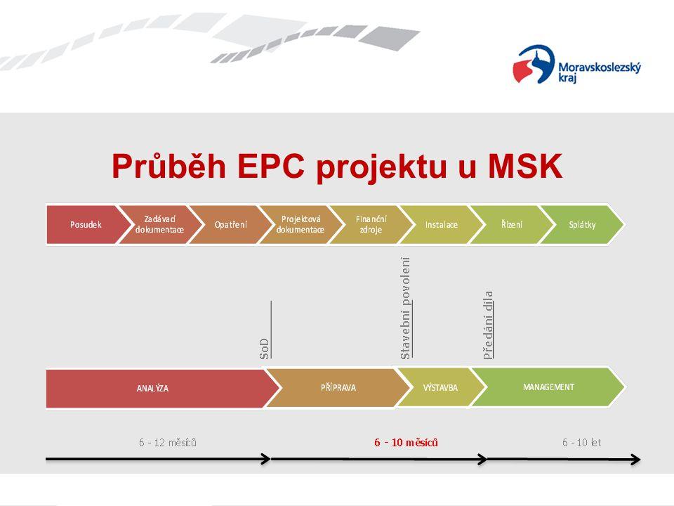 Průběh EPC projektu u MSK