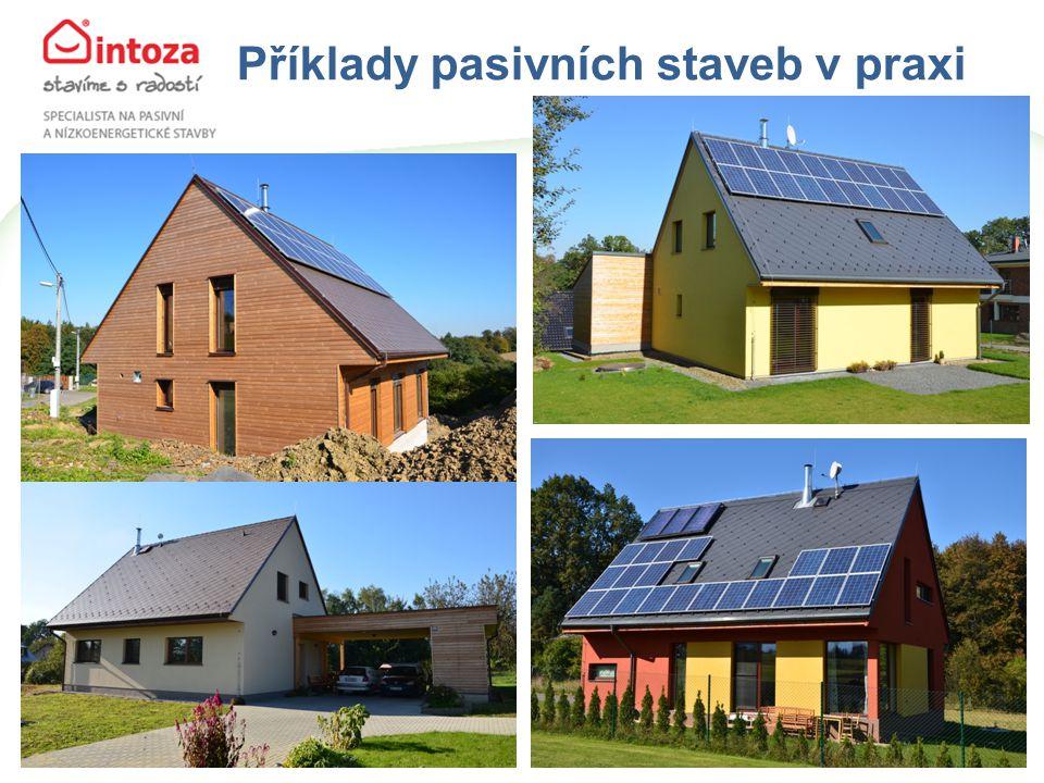 Příklady pasivních staveb v praxi