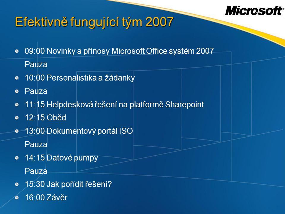 2007 Microsoft Office system Servers Programs Services