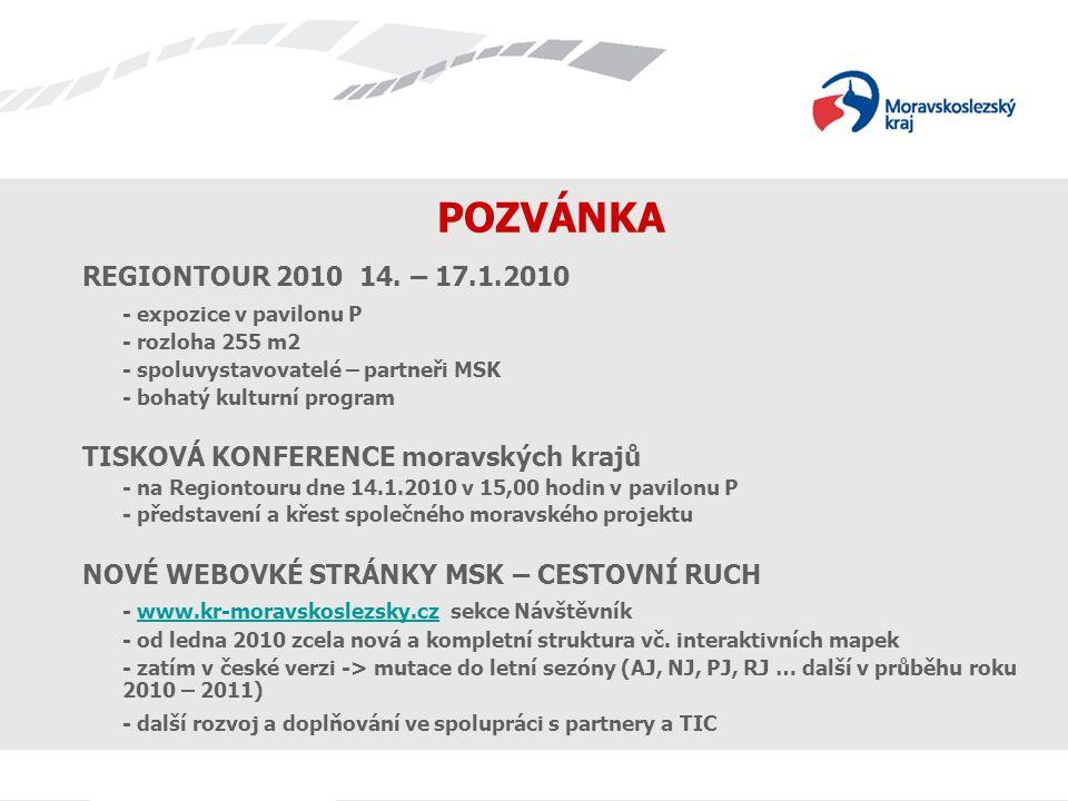 Název prezentace POZVÁNKA REGIONTOUR 2010 14.