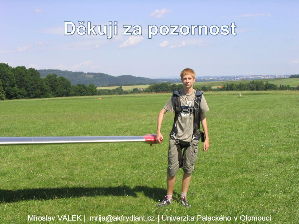 Miroslav VÁLEK | mrija@akfrydlant.cz | Univerzita Palackého v Olomouci