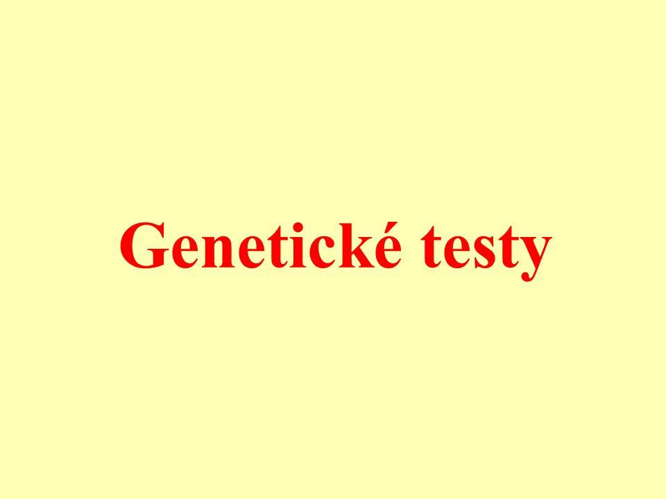 Genetické testy