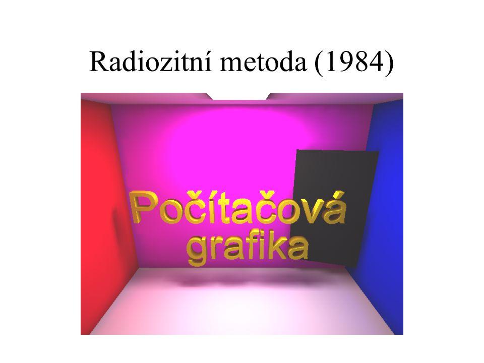 Radiozitní metoda (1984)