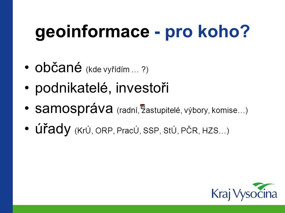 ePUSA a aplikační architektura GIS kraje na příkladu Vysočiny Lubomír Jůzl a Jiří Hiess, Kraj Vysočina ISSS 2003