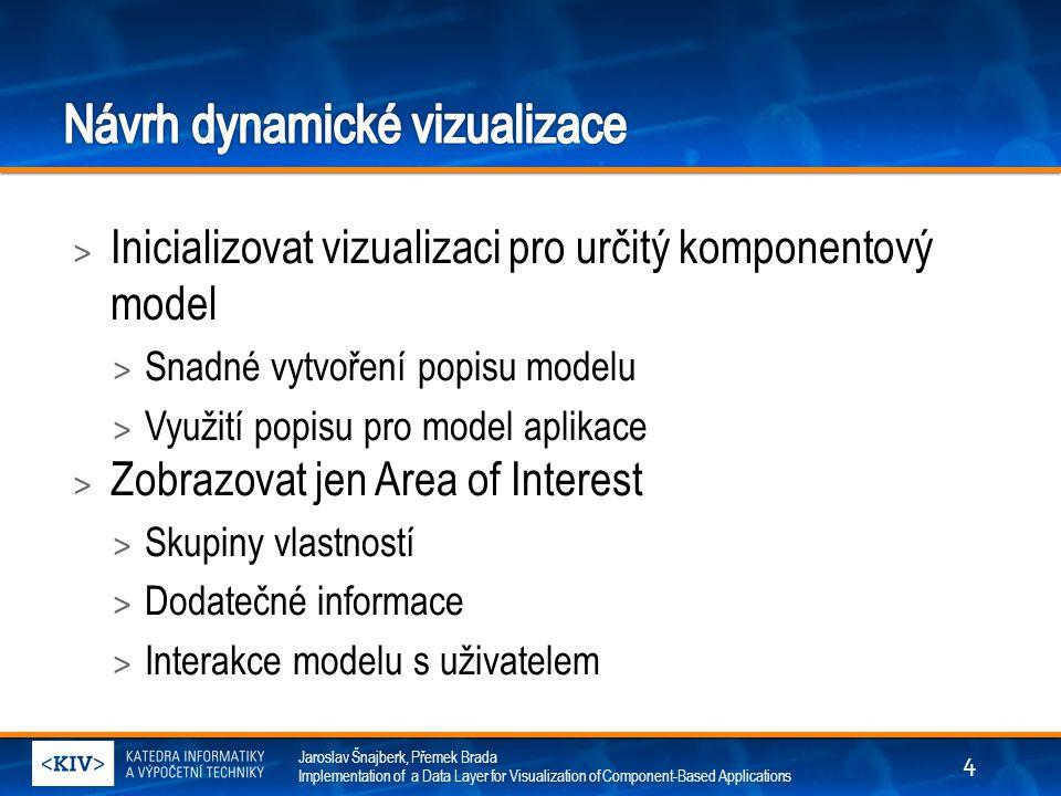 Jaroslav Šnajberk, Přemek Brada Implementation of a Data Layer for Visualization of Component-Based Applications > Inicializovat vizualizaci pro určit