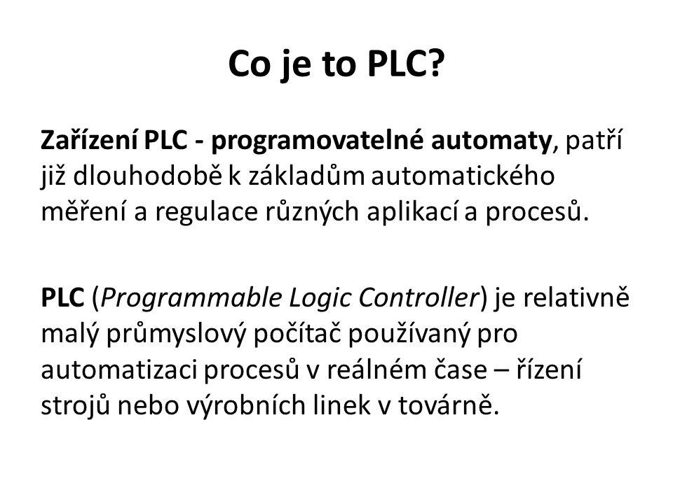 Co je to PLC.