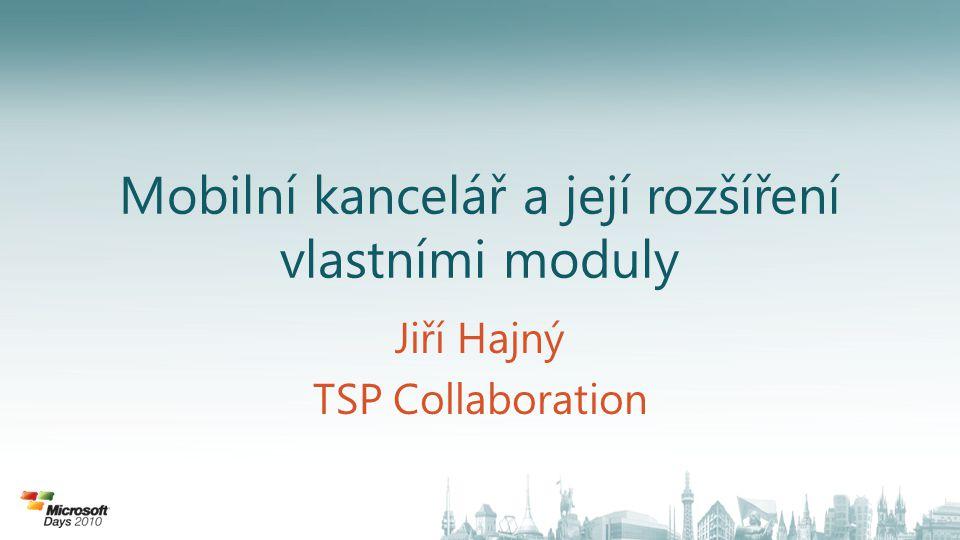 Jiří Hajný TSP Collaboration