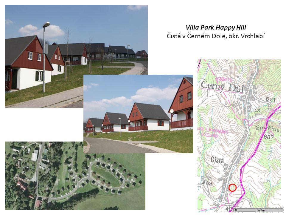 Villa Park Happy Hill Čistá v Černém Dole, okr. Vrchlabí