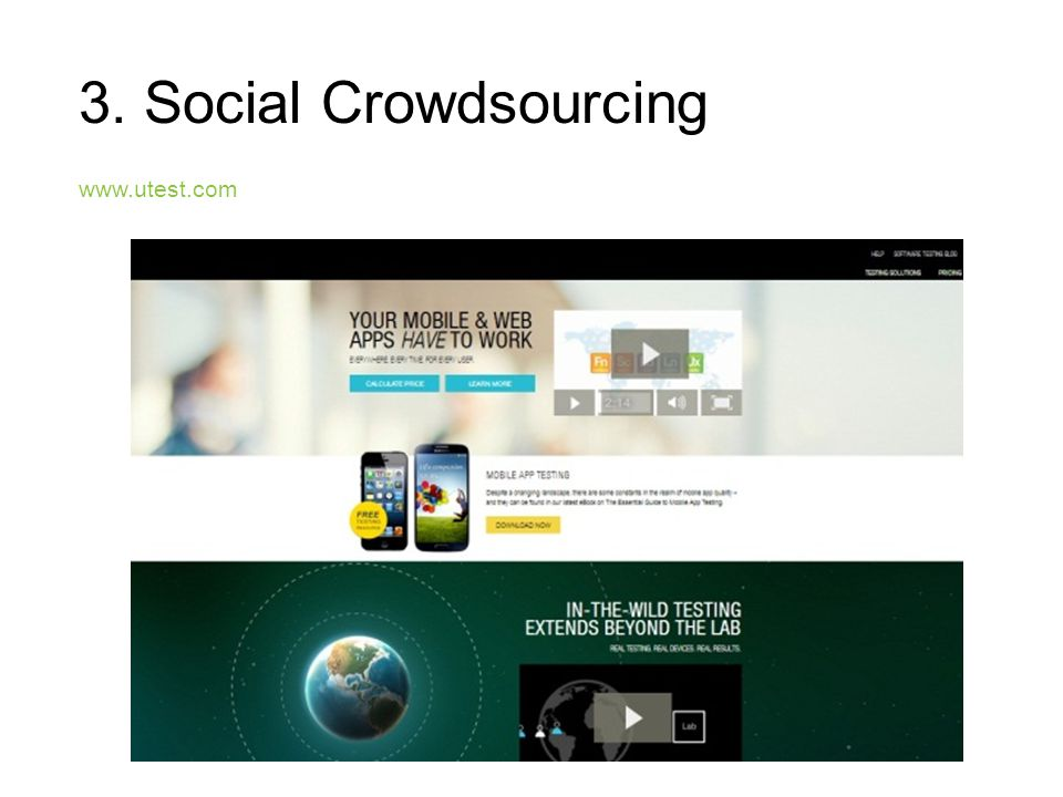 3. Social Crowdsourcing