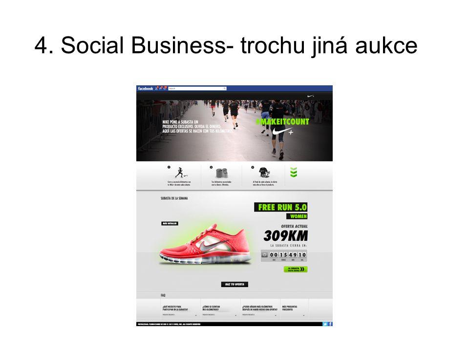 4. Social Business- trochu jiná aukce