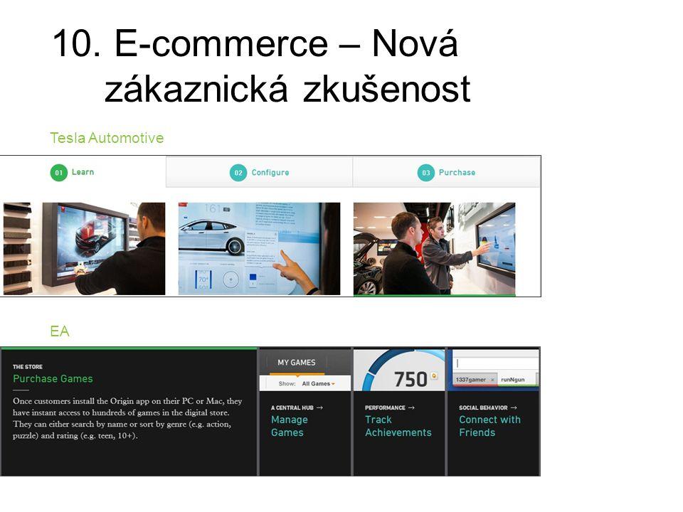 10. E-commerce – Nová zákaznická zkušenost Tesla Automotive EA