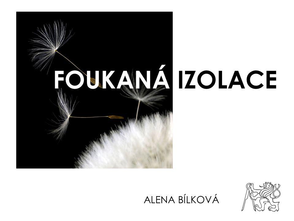 FOUKANÁ IZOLACE ALENA BÍLKOVÁ