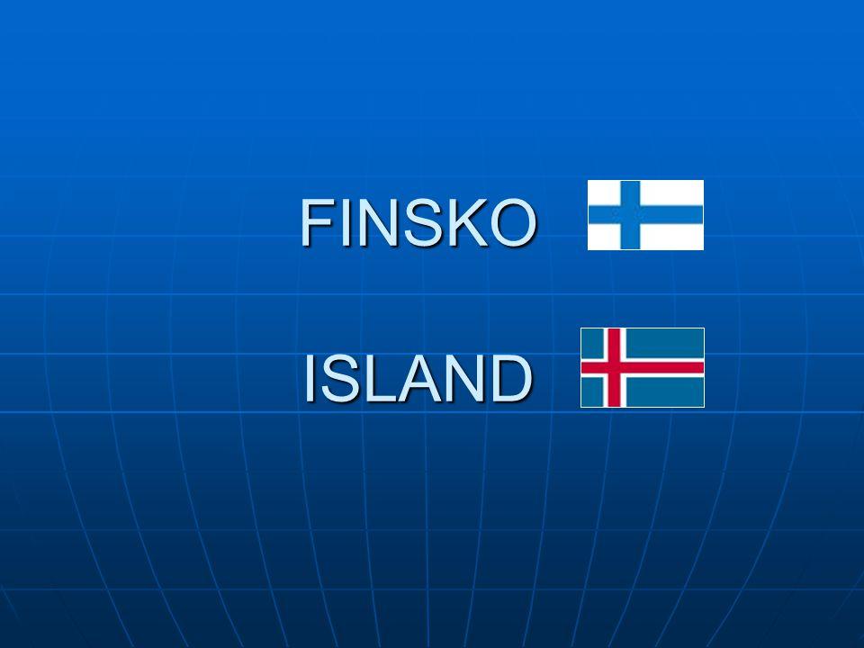 FINSKÁ REPUBLIKA 337 000 km 2, 4,5 mil.obyvatel 337 000 km 2, 4,5 mil.
