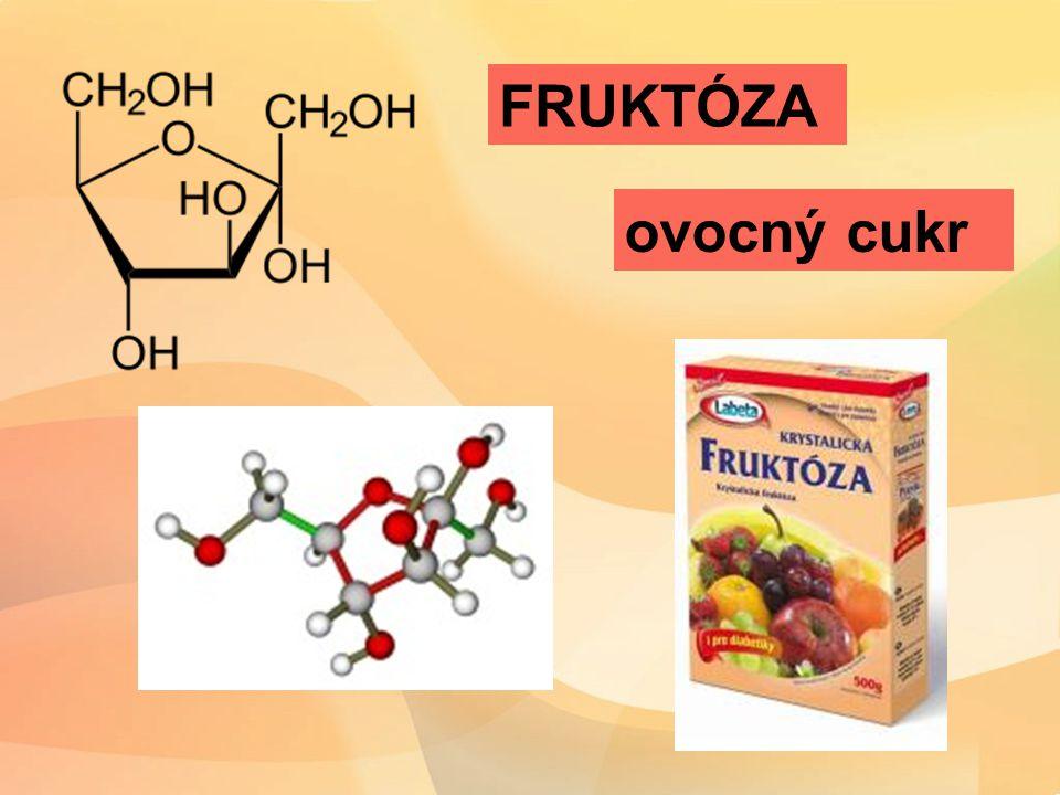 FRUKTÓZA ovocný cukr