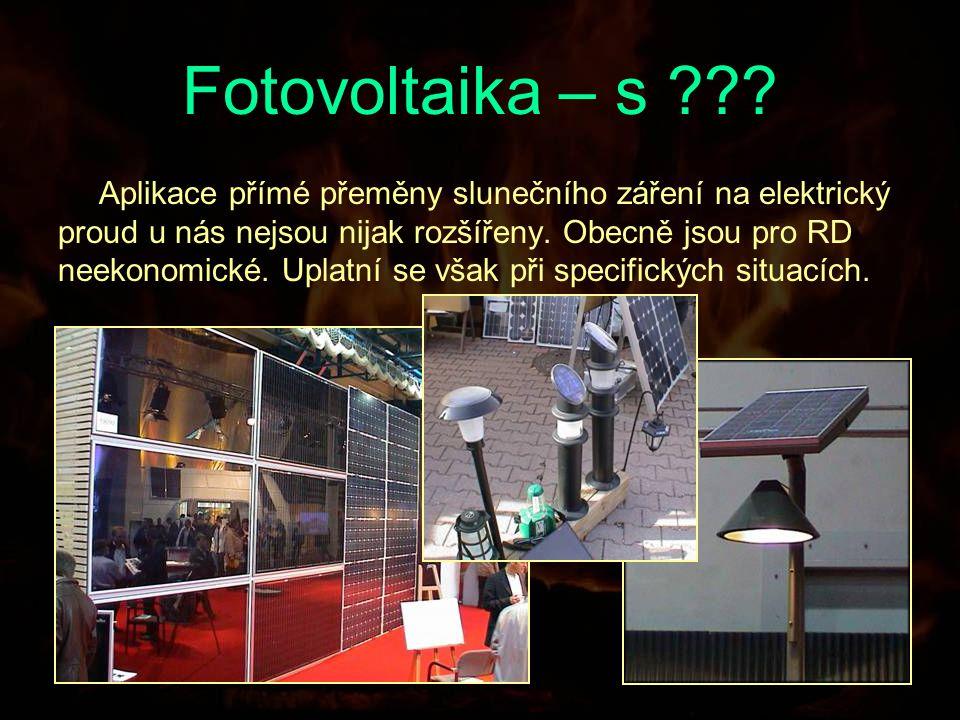 Fotovoltaika – s .