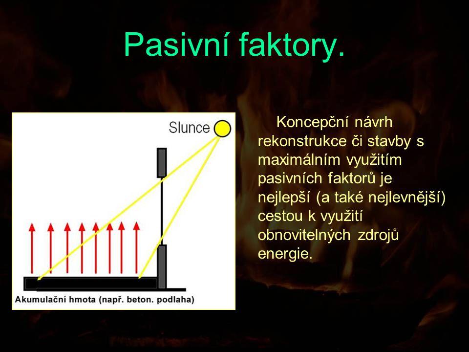 Co jsou to pasivní faktory.